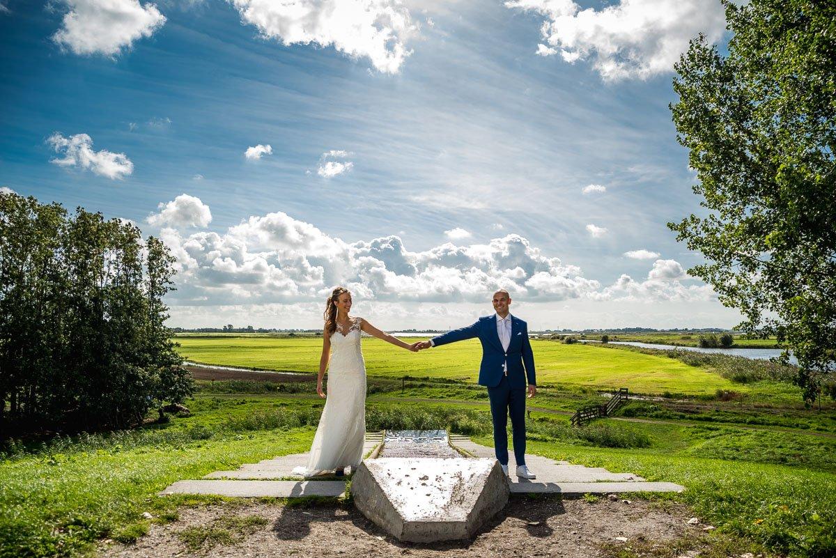 Huwelijk Rasterhoffpark in Sneek