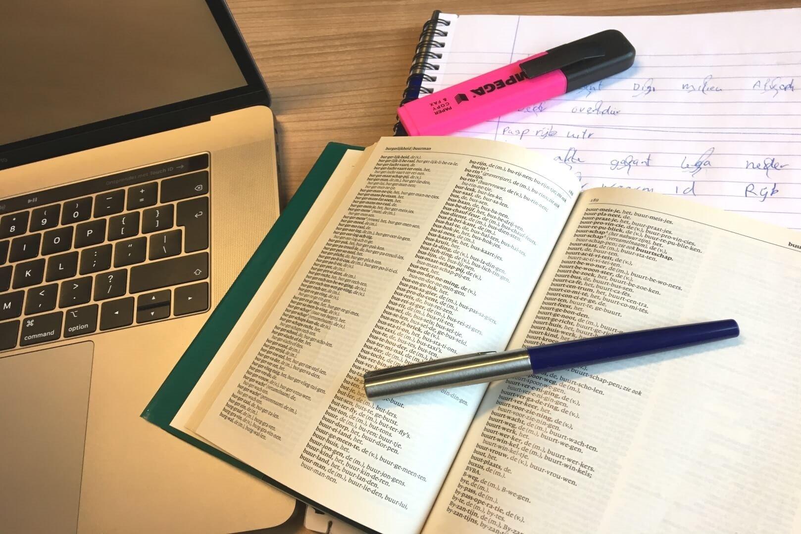 individuele studietoeslag laptop met boek