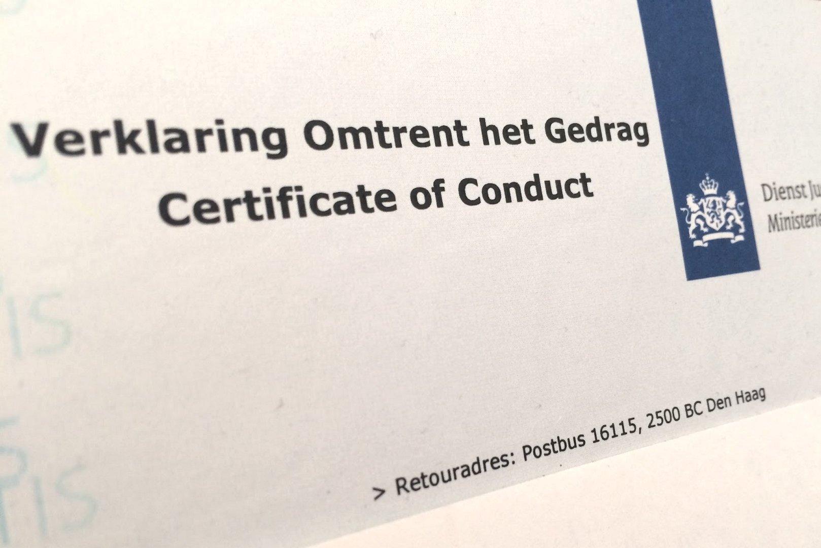 Verklaring omtrent gedrag (VOG) | Gemeente Súdwest-Fryslân